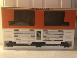 🚂 Lionel 6-16912 Canadian National Maxi-Stack Flatcar