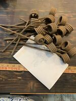 Rusty Vintage Tines From Dethatcher Barn Find Farmhouse Lot Of 16 Display Art