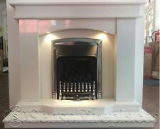 """Exclusive Marble Fireplace 50"""" 52"""" or 54"""" Inch suite (Free Local Delivery)"""