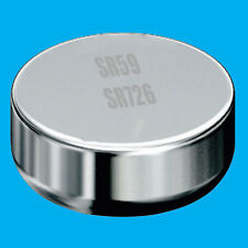 12x SR59 1.55V Silver Oxide Button Cell Battery Watch Replacement