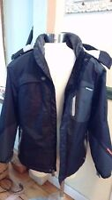Hawke & Co.Sport Snow Ski Jacket Black & Gray- Eagle On The Back Sz.Large