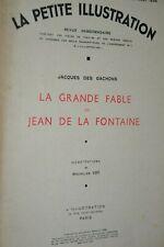 La petite illustration / La grande fable de Jean de la Fontaine 1937