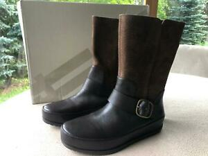 brand new Fitflop women leather genuine boots EU 38 US 7 UK 5