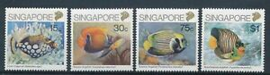 [320783] Singapore fishes good set very fine MNH stamps