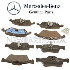 For Mercedes W218 CLS400 W212 S212 E350 E400 Front & Rear Brake Pad Sets OES