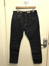 All Saints Nara Dark Indigo Jeans Denim  Skinny Fit Size W 32 L 30