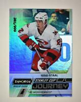 2020-21 UD Synergy Stanley Cup Journey Regular Season #CJ-ES Eric Staal /999