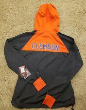 Clemson Colosseum Backside Hooded Full-Zip Windbreaker Jacket - Women's Small