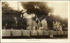 Noumea New Caledonia Une Villa Real Photo Postcard