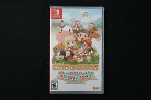 Story of Seasons: Friends of Mineral Town - Nintendo Switch Torn Plastic New !!