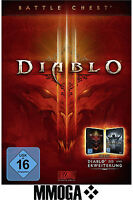 Diablo 3 III Battlechest Key Battlenet Digital Code D3 Battle Chest PC MAC EU/DE