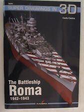 Kagero Book: The Battleship Roma 1942–1943 (Superdrawings in 3D)
