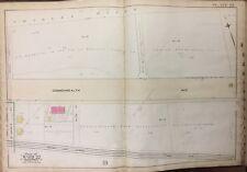 1888 BACK BAY BOSTON & ALBANY RAIL ROAD COMMONWEALTH AVENUE ESTATES ATLAS MAP