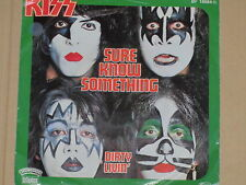 "KISS -Sure Know Something- 7"" 45"