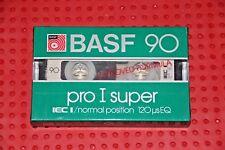 BASF  PRO I SUPER   90   BLANK CASSETTE TAPE (1) (SEALED)