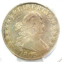 1803 Draped Bust Half Dollar 50C with Large 3 - Certified PCGS VG Details