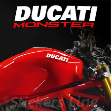 2 Adesivi serbatoio DUCATI MONSTER adesivo ducati motorcycle tank stickers MOD.2