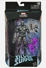 Marvel Legends Silver Surfer With Mjolnir Thors Hammer Hasbro