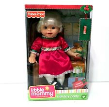 Fisher Price Little Mommy Holiday Party - New