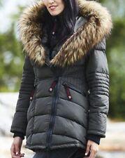 Canada Weather Gear - Olive Oversize Faux Fur-Hood Long Puffer Jacket - Size: 3X