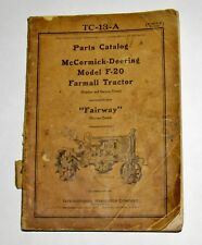 IH International McCormick-Deering F-20 Parts Catalog