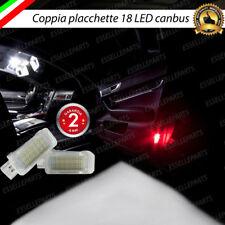 COPPIA PLACCHETTE 18 LED ANTIPOZZANGHERA AUDI Q3 Q5 Q7 CANBUS 6000K BIANCO