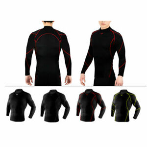 Take Five Mens Skin Tight Compression Base Layer Running Shirt S~2XL NT067