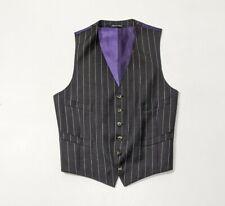 Paul smith Mainline Mens Waistcoat Black Wool UK 36R IT 46 Made in Italy RRP£195