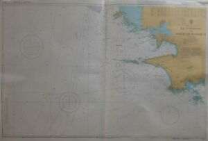 Admiralty 2643 Ile d'Ouessant to Pointe de Penmarc'h Nautical Geographical Chart