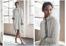 NWT $160 WITCHERY Roll Neck Knit Jumper DRESS  Pale Grey S M L XL