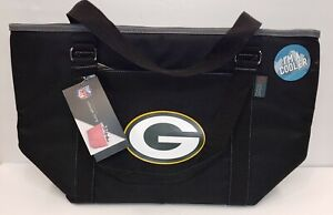 GreenBay Packers NFL Logo Oniva Insulated 24-Can Tailgating Cooler Beach ToteBag