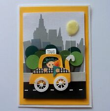 Roc Paper Scissors: Handcrafted American Baby Card - New York Baby