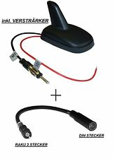 SHARK ANTENNE DACHANTENNE ANTENNENFUSS RAKU II 2 VW PASSAT GOLF IV POLO OCTAVIA