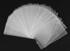 100 BUSTINE PROTETTIVE CARD SLEEVES X SCHEDE TELEFONICHE O GIOCHI 56 X 87 NO PVC