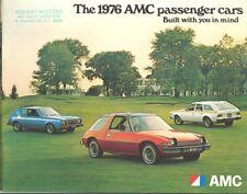 1976 AMC Deluxe Brochure Pacer Gremlin Hornet Matador