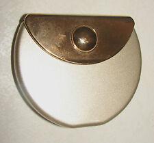 Daniella Gold Purse Folding Compact Mirror Standard & 2X Magnification 469