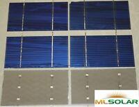 40 Short Tab 3x6 Solar Cells DIY Solar Panel Value Pack 12V Battery Charge STDT