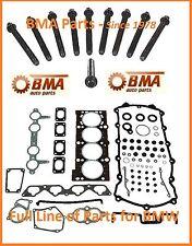 50BMW E30 E36 318i 318iC 318is M42 Head Gasket Set w/head bolts - OEM Reinz