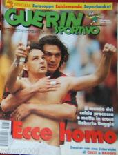 GUERIN SPORTIVO=N.38 1996=ROBERTO BAGGIO=COPPE EUROPEE