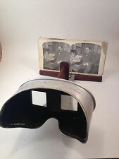 Vintage Perfescope Viewer and 143 Stereoview Cards Set