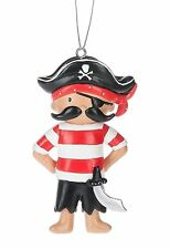 """PIRATE BOY Christmas Tree Ornament, 3"""" Tall, by Midwest CBK"""