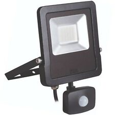 Kanlux Slim 30W LED Floodlight Sensor Outside IP44 4000K Waterproof Spot Light