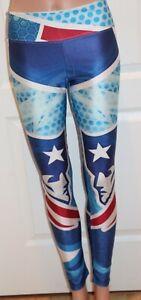 New England Patriots 3D Printed Women's Leggings Yoga Pants Size S/M