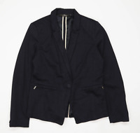 Next Womens Size 14 Blue Suit Jacket (Regular)