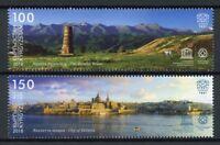 Kyrgyzstan KEP 2018 MNH Burana Tower JIS Malta 2v Set Architecture Stamps