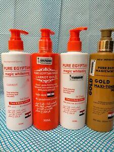 1xPure Egyptian whitening lotion 300ml Full Lotion