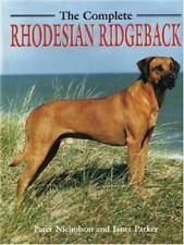 Complete Rhodesian Ridgeback