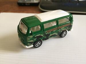 Matchbox Volkswagen (T2) Bus - 1970 1/59 scale green Mattel 2007 diecast