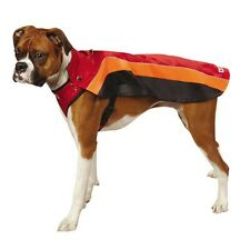 Adjustable Dog Harness Coat Dogs Red Padded Fleece Lining Size Small CLOSEOUT !