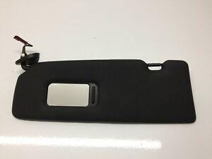 Bmw 1 Series E81 E87 Black M-sport sun visor LEFT UK Passenger N/S